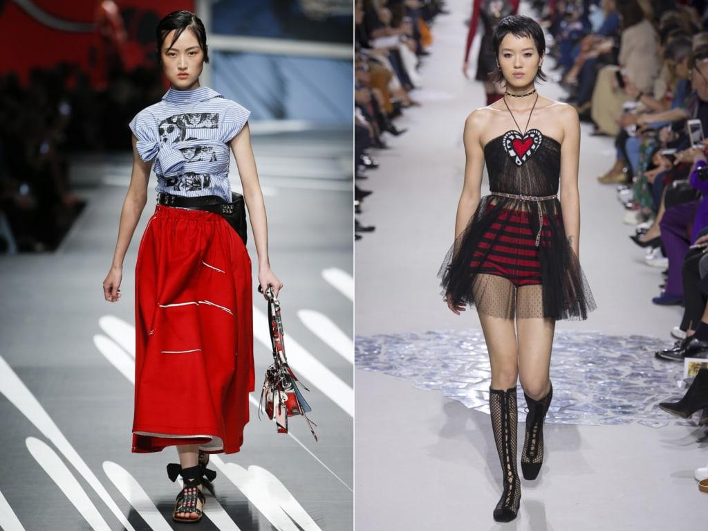 prada dior fashion