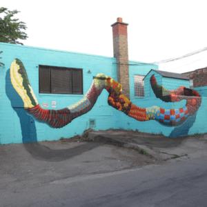 Mural by Birdo.