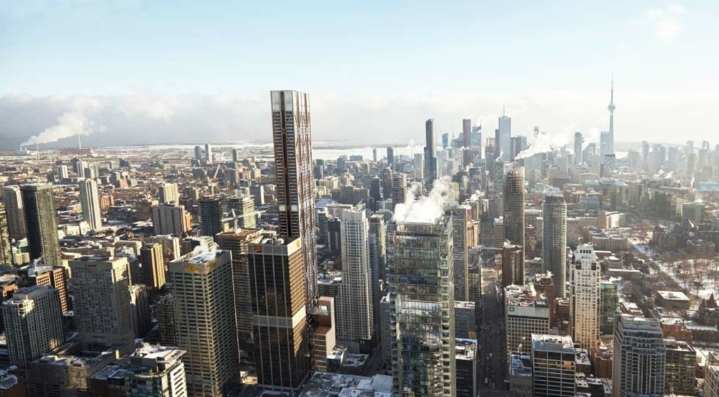 One Bloor East at Yonge and Bloor in Toronto Rendering